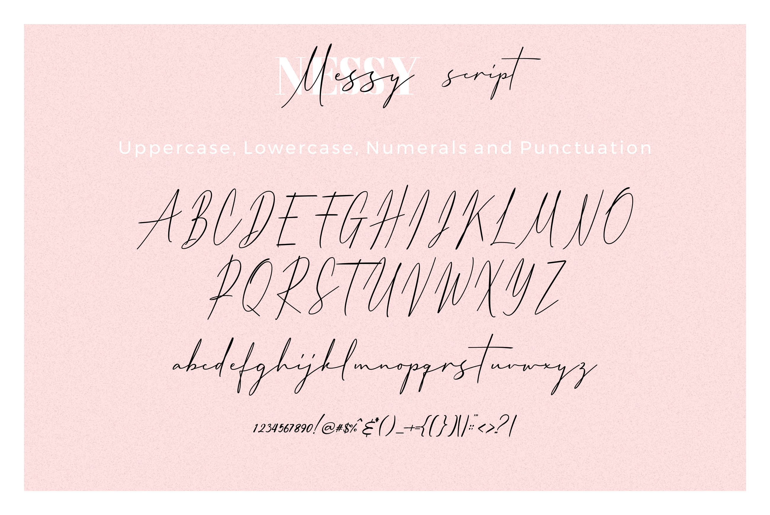 3 FONT | Messy Nessy example image 12
