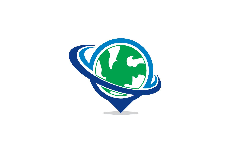 globe swoosh logo example image 1