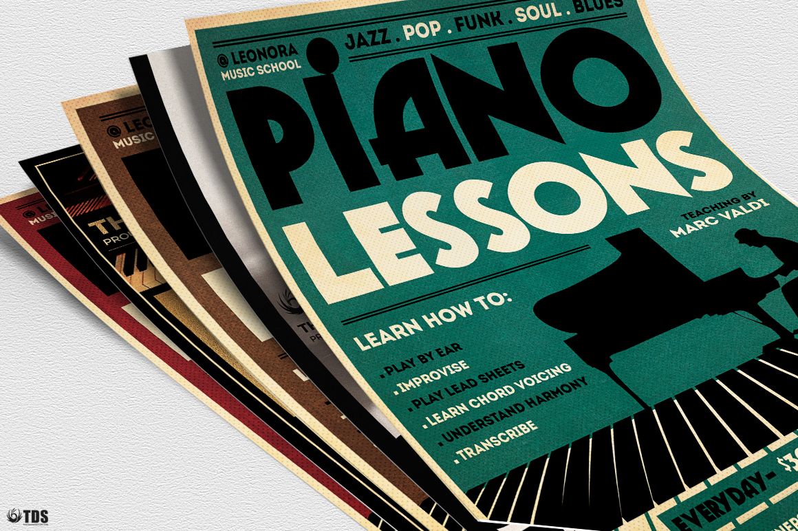 Special Pianist Flyer Bundle example image 8