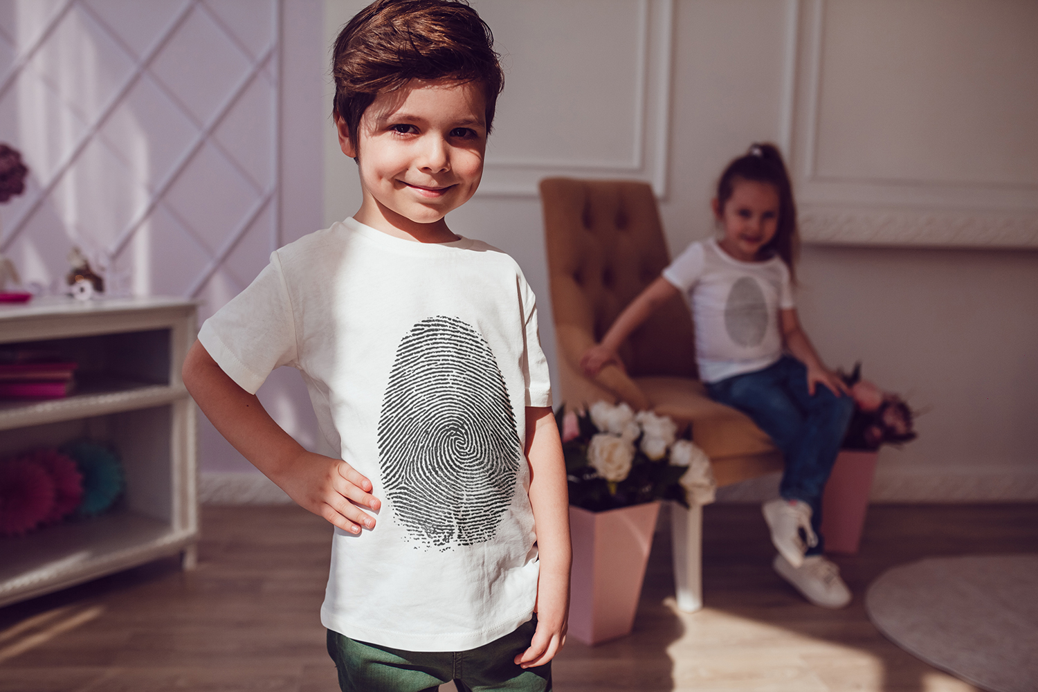 Kids T-Shirt Mock-Up Vol.3 2017 example image 10
