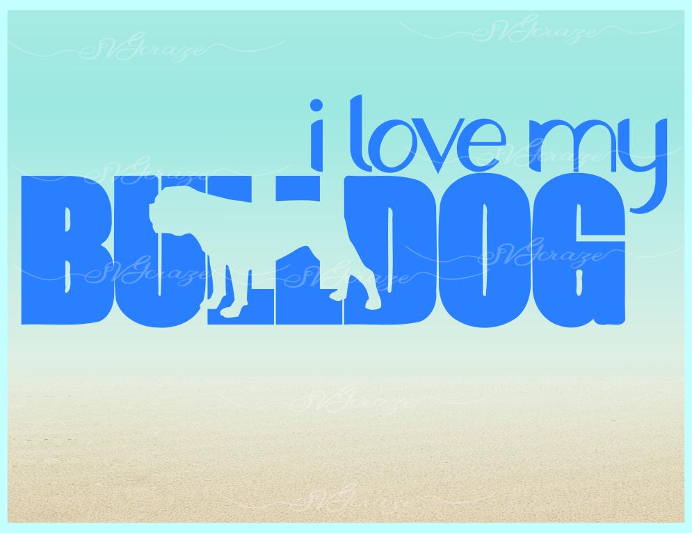 Bulldog Mandala Zentangle SVG Eps Png files for Cricut example image 4