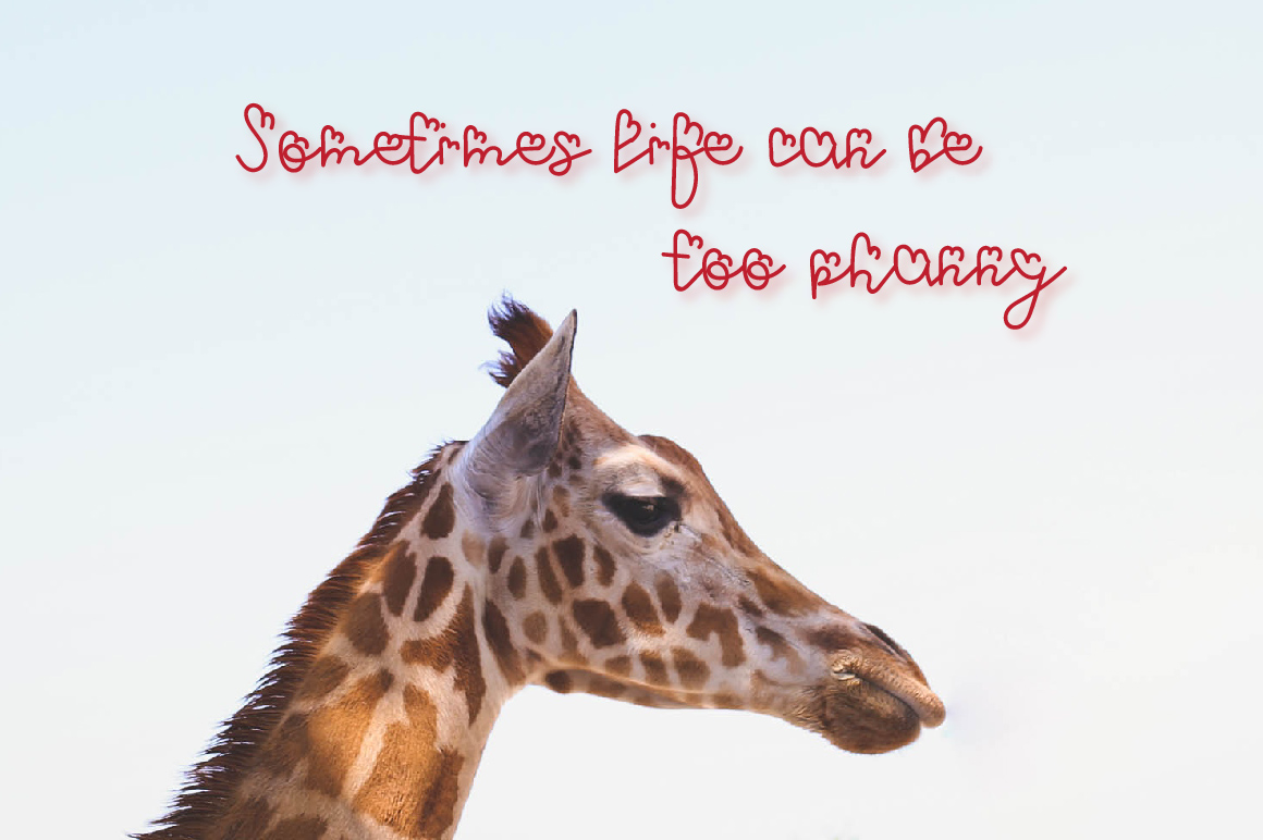 Phanny Can- A cute font example image 4