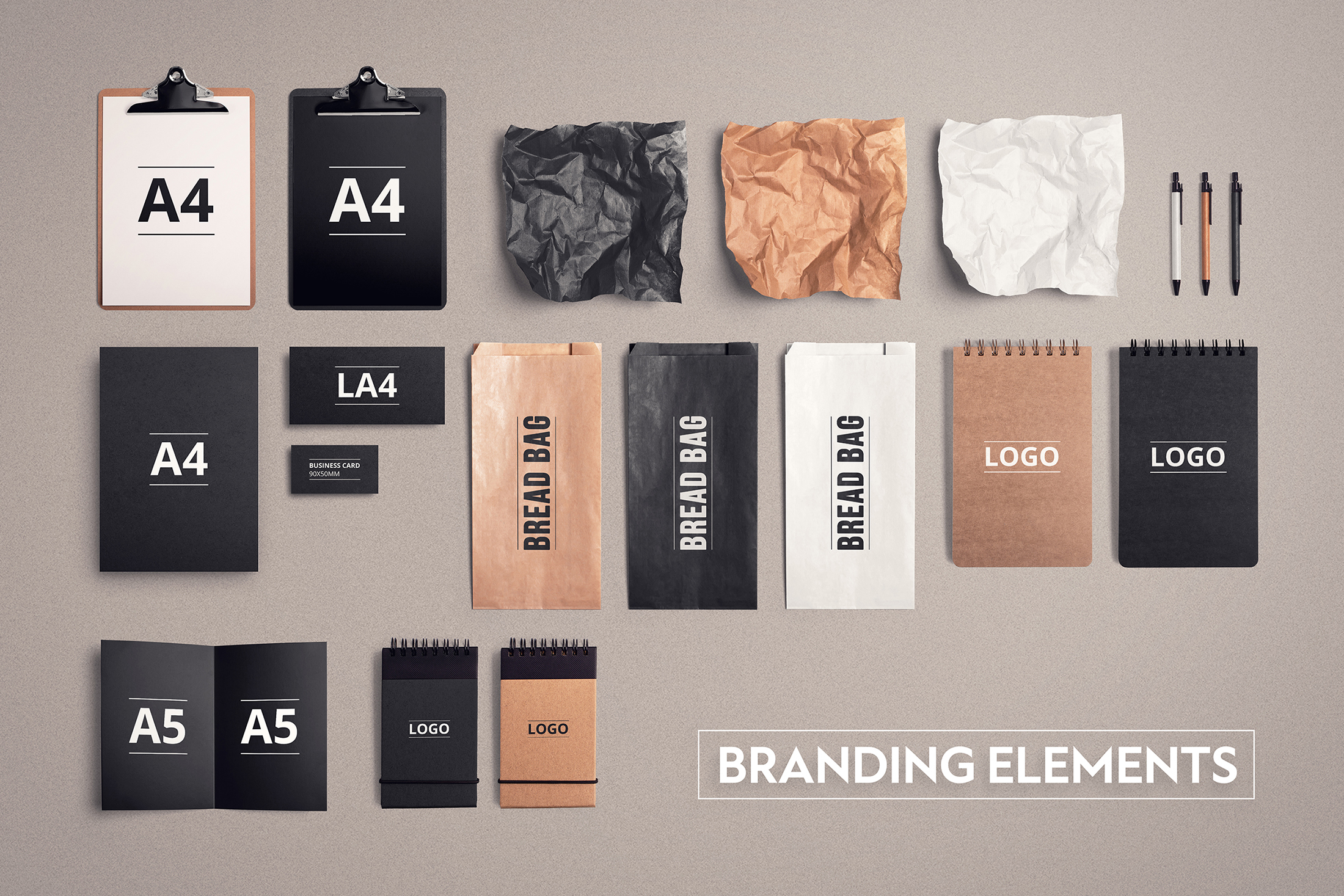 Food & Restaurant Mockup Collection example image 5