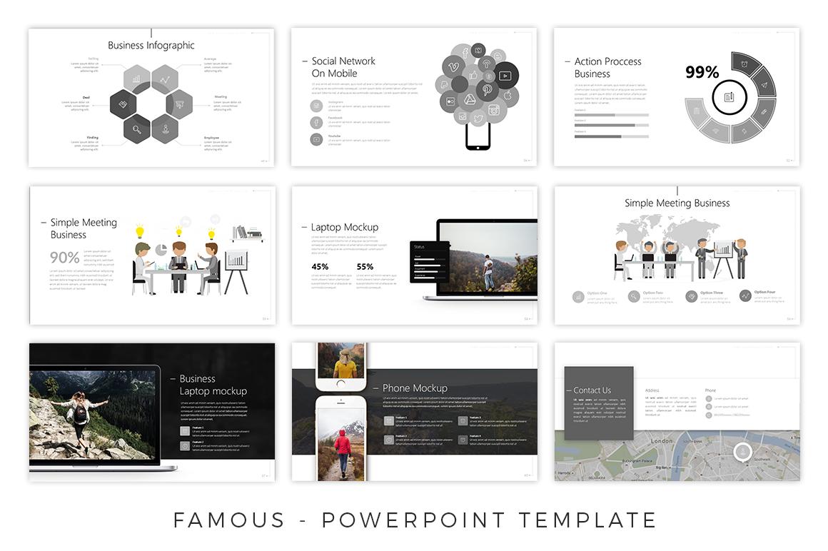 Famous - Creative Presentation example image 7