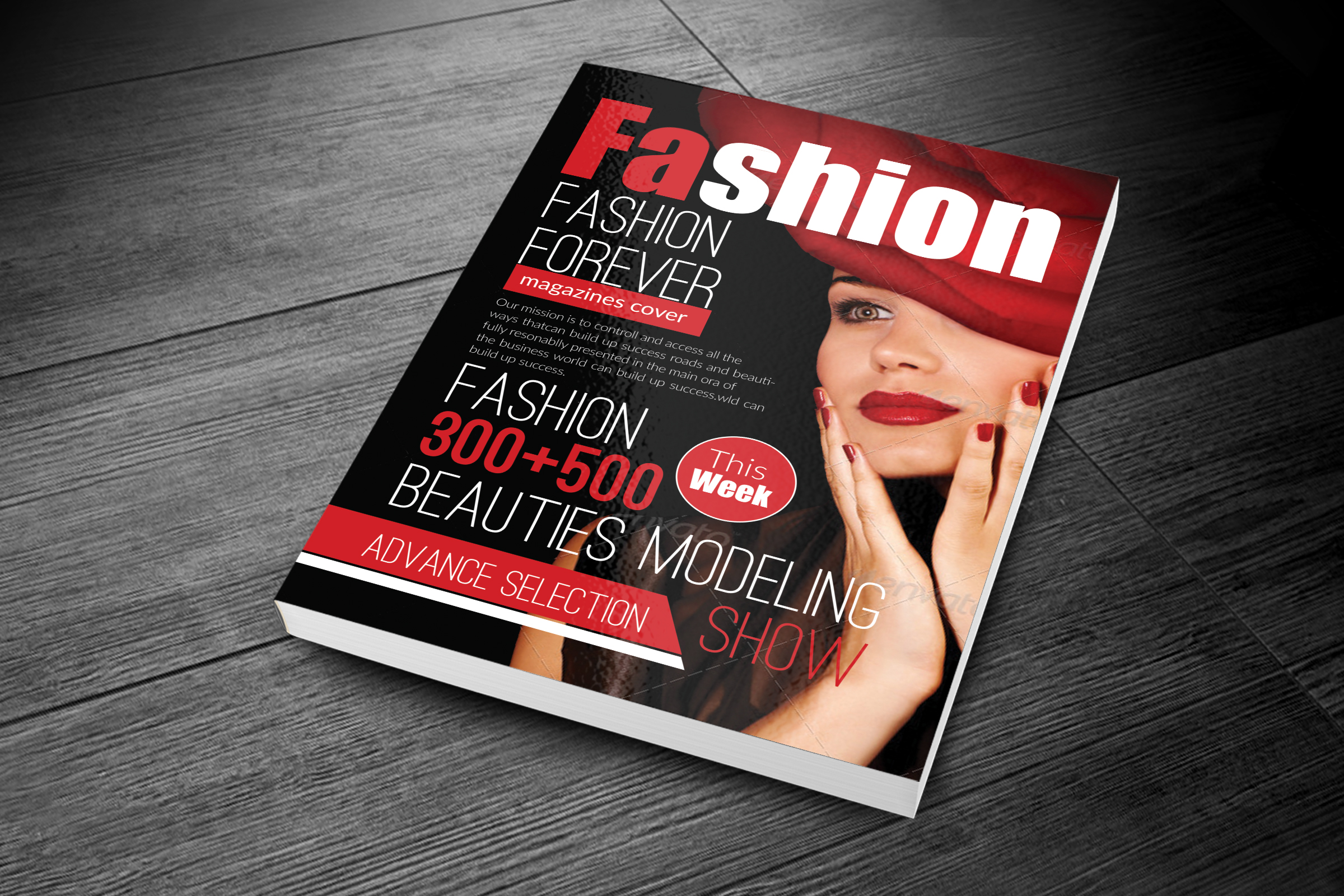 Magazine Cover Templates example image 2