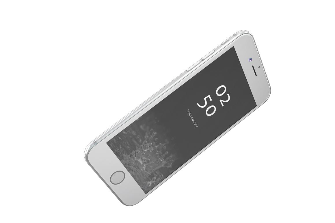 iPhone 7 Jet Black Edition Mockup example image 6