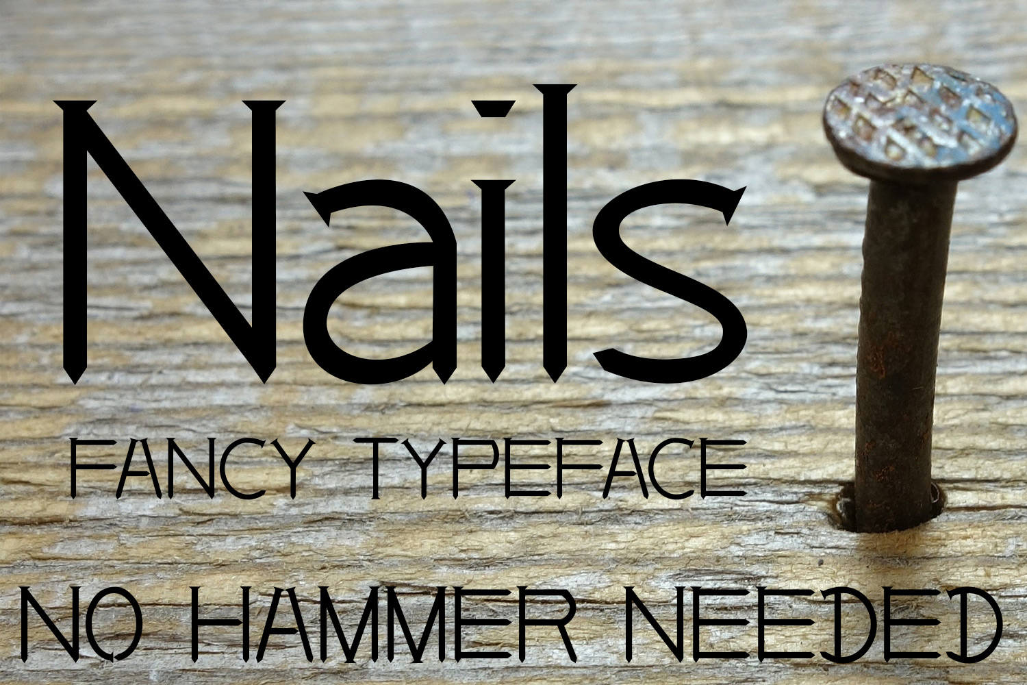 EP Nails - Fancy Typeface example image 1
