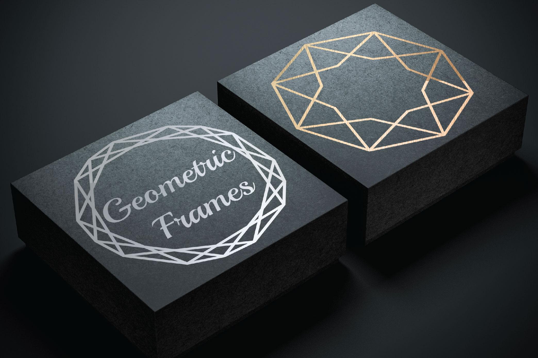 15 Geometric Frames example image 2