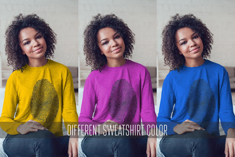 Sweatshirt Mock-Up Vol.5 2017 example image 5