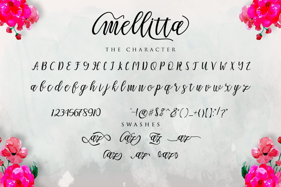 Mellitta Script example image 3