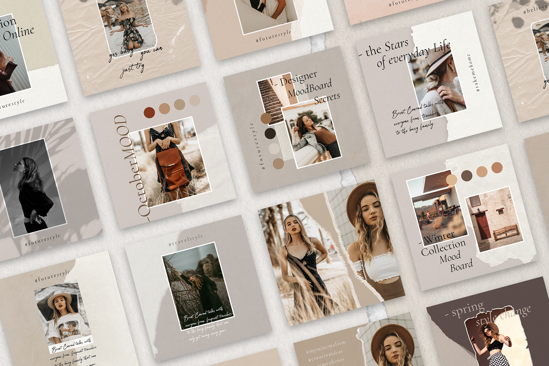 #InstaBabe Instagram Post Templates example image 6