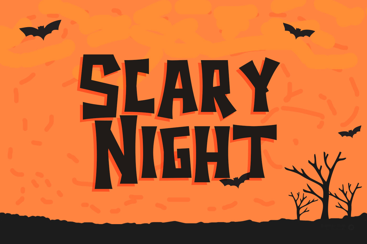 Halloween - Spooky Font example image 2
