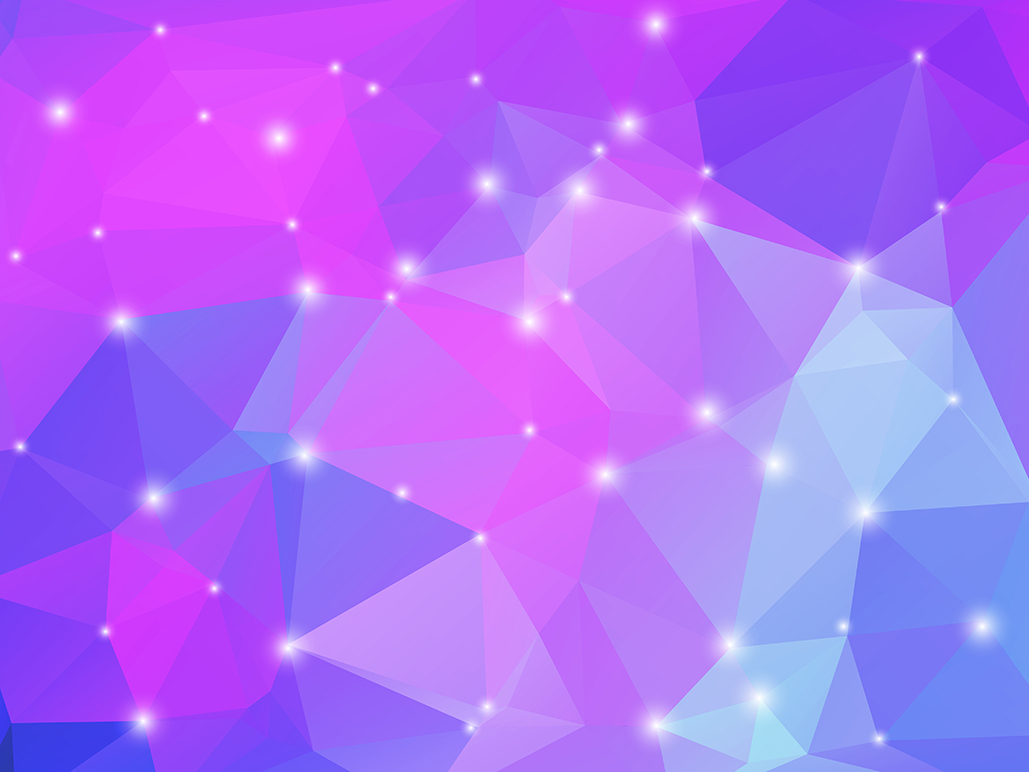 Polygon vector backgrounds set example image 18