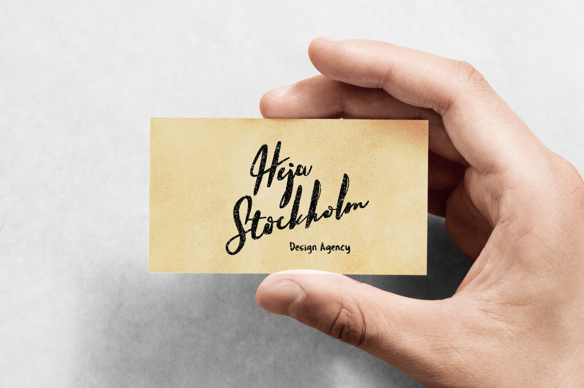 Hello Stockholm - Handmade Typeface example image 11