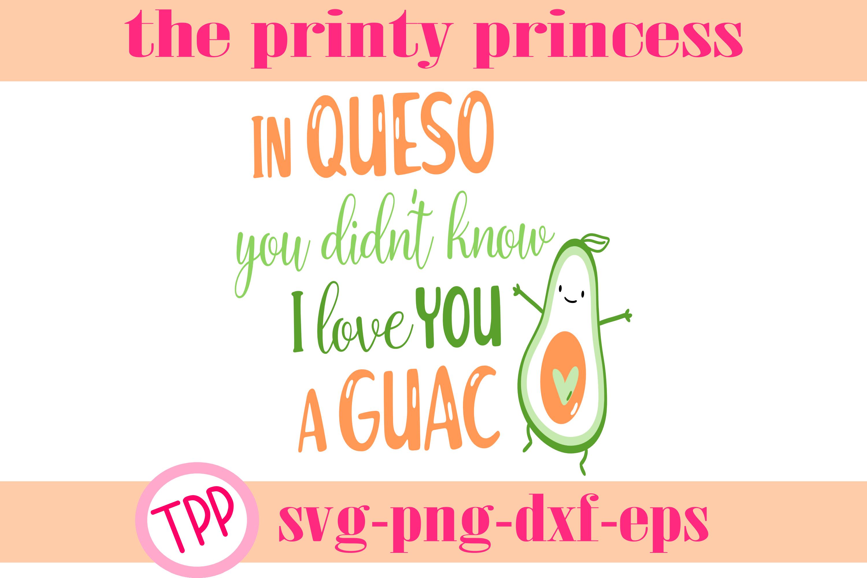 Queso Guacamole svg, Cinco de Mayo svg, funny design example image 1