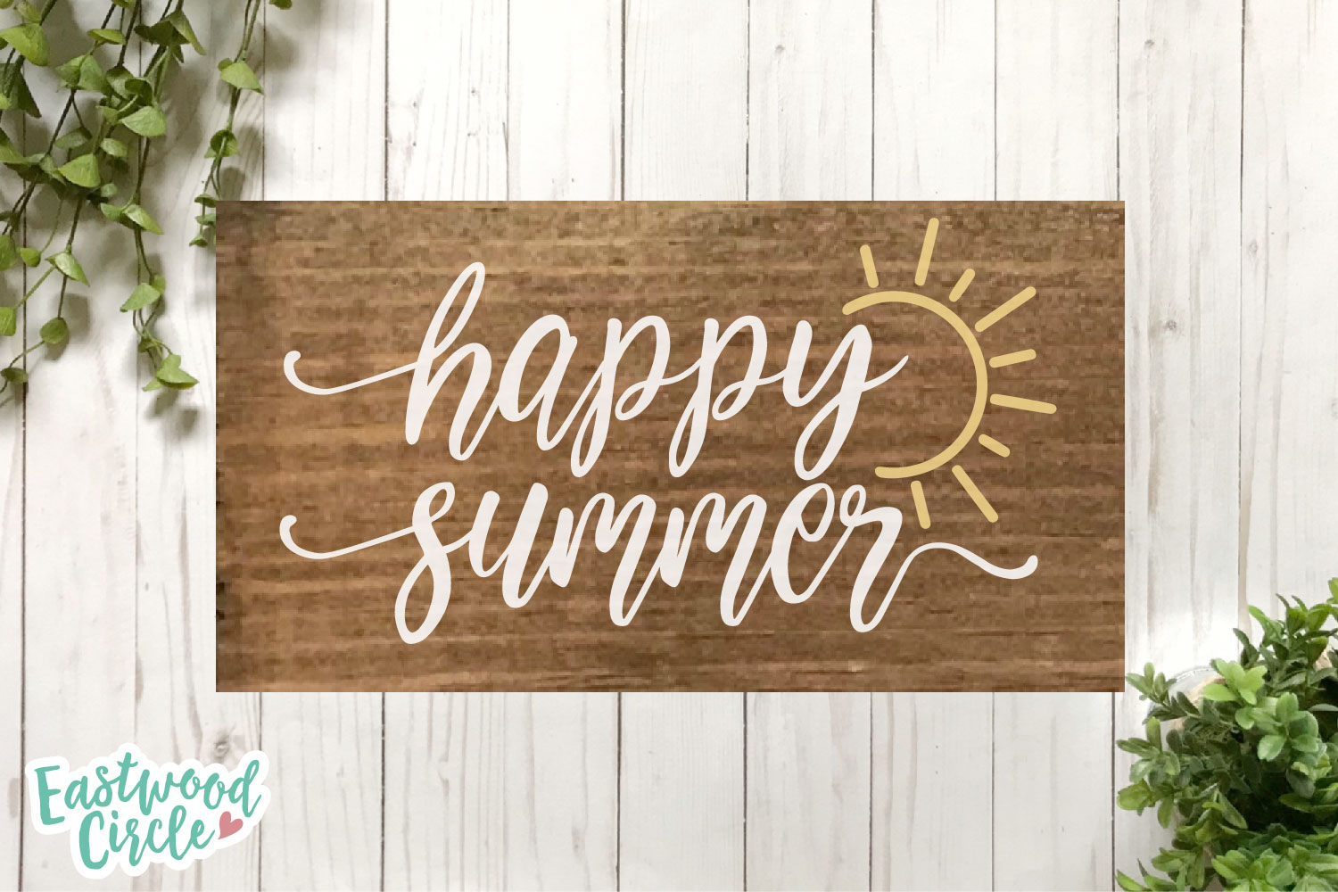 Summer SVG Bundle - Cut Files for Signs example image 11