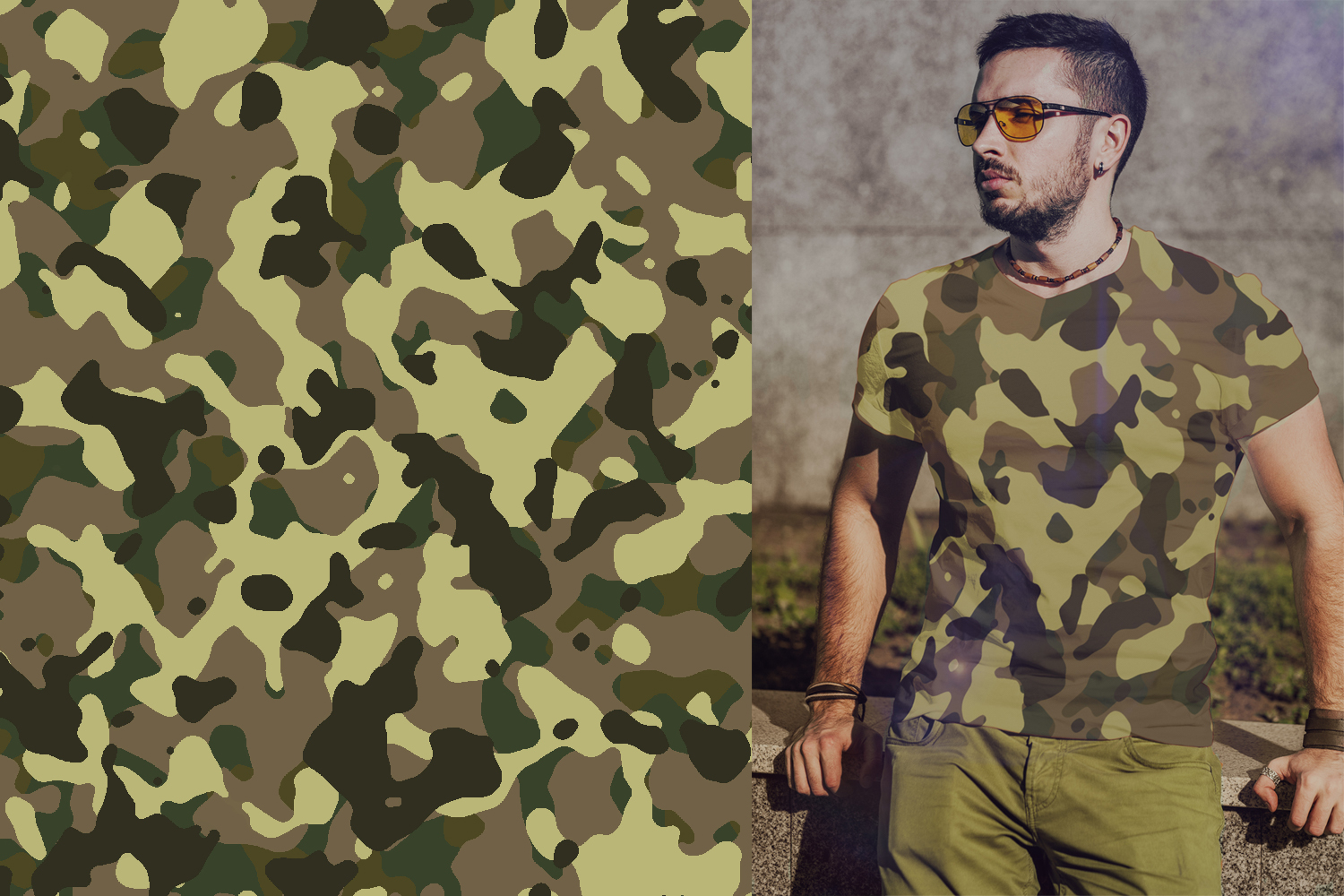 40 Alternative Camouflage Paper Designs example image 22