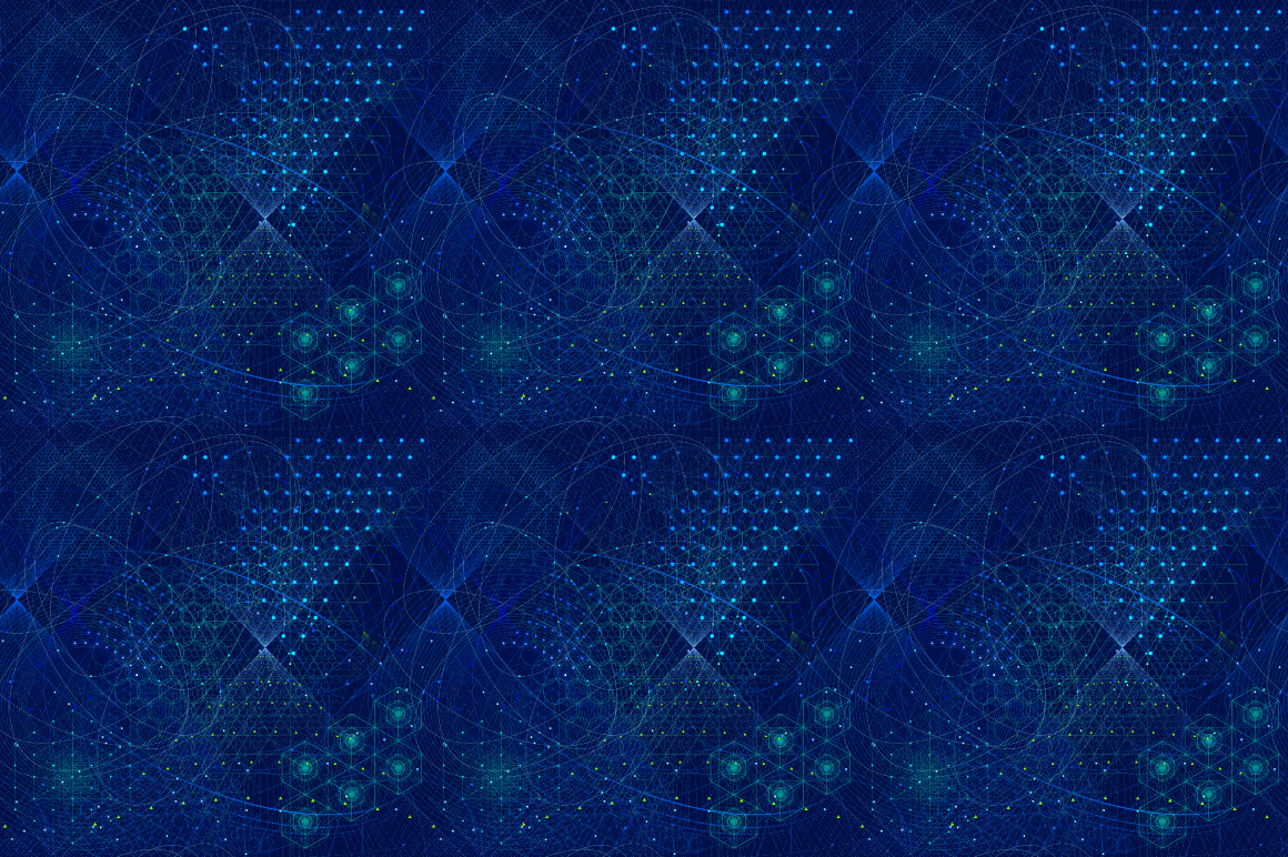 {Sacred Geometry} Vector PATTERNS example image 2