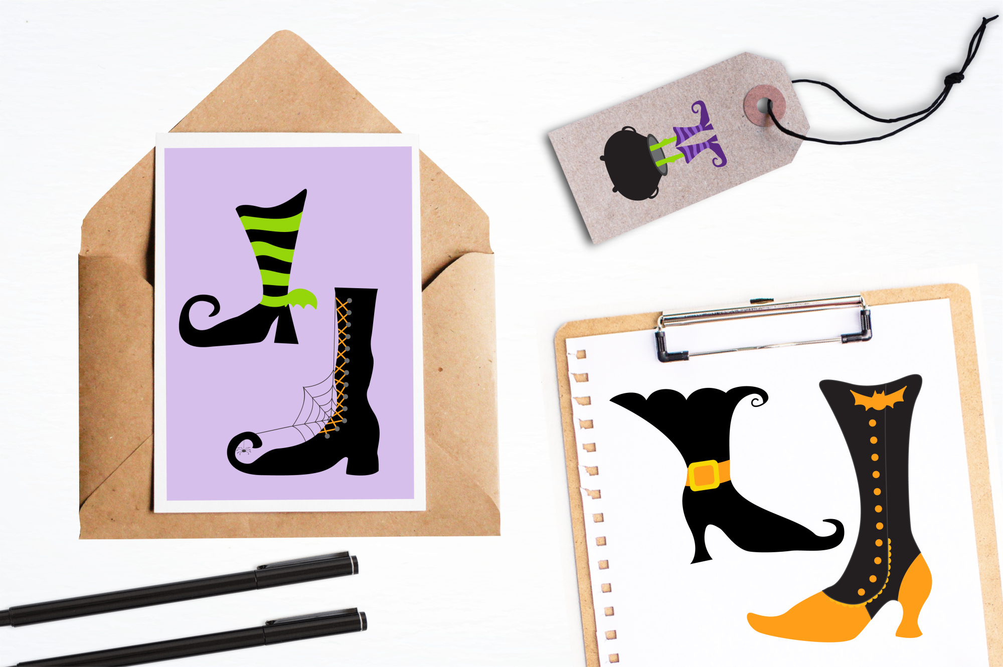 Witch Feet graphics and illustrations example image 4