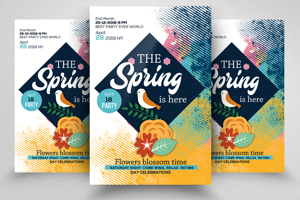 4 Spring Flyers Bundle example image 5