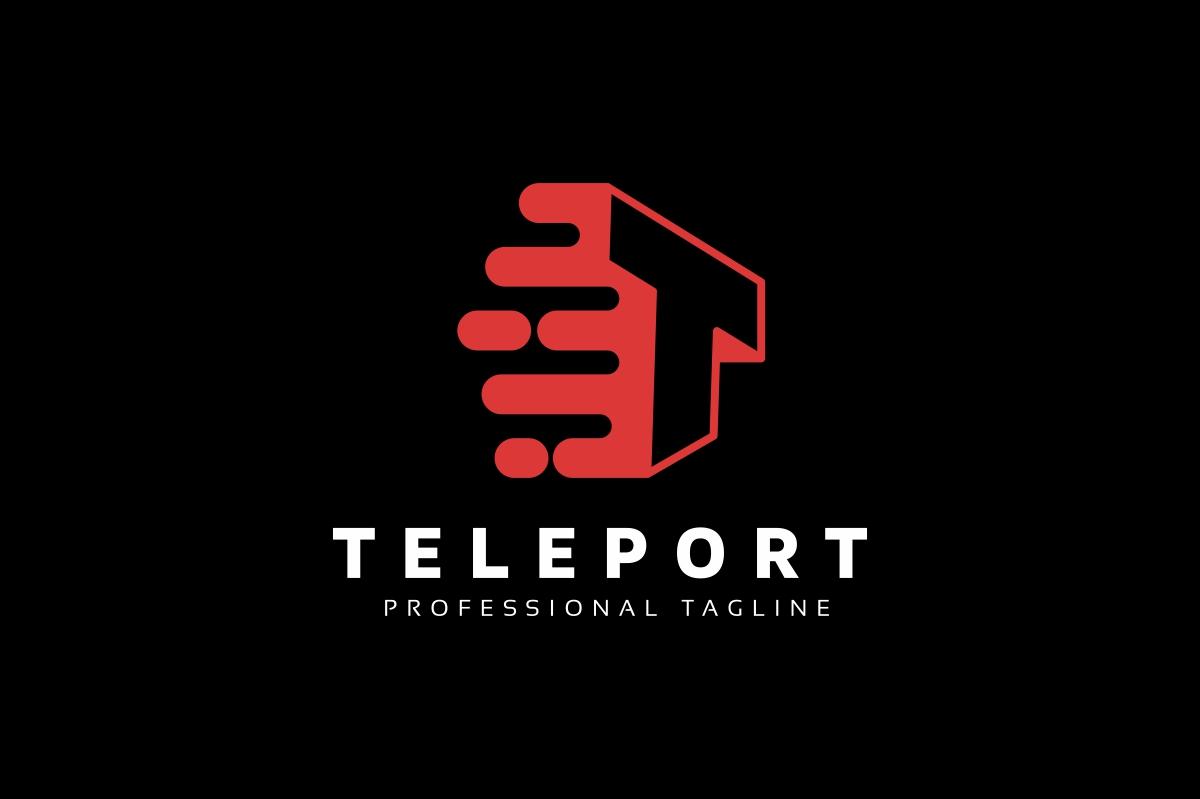 Teleport T Letter Logo example image 2