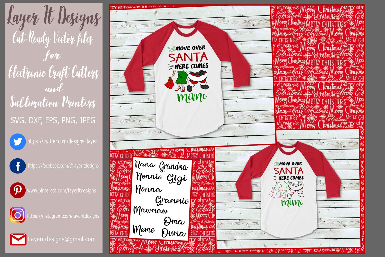 Move Over Santa Design File example image 1
