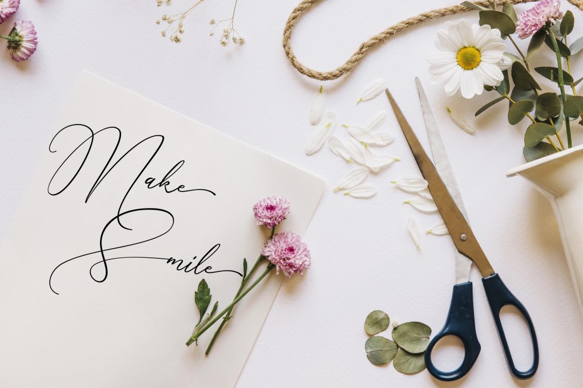 Creative Signature Font example image 6