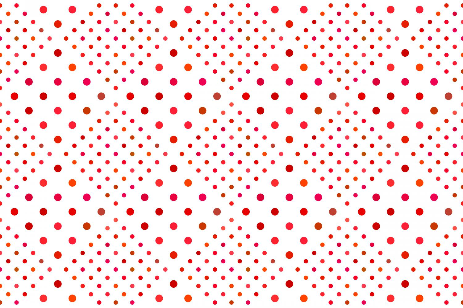 24 Seamless Red Dot Patterns example image 3