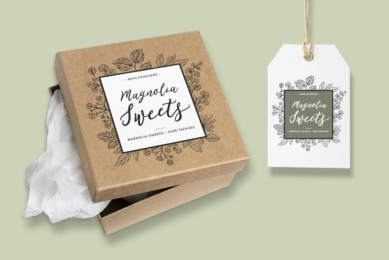 Romantic, flirty wedding font, February Love example image 4