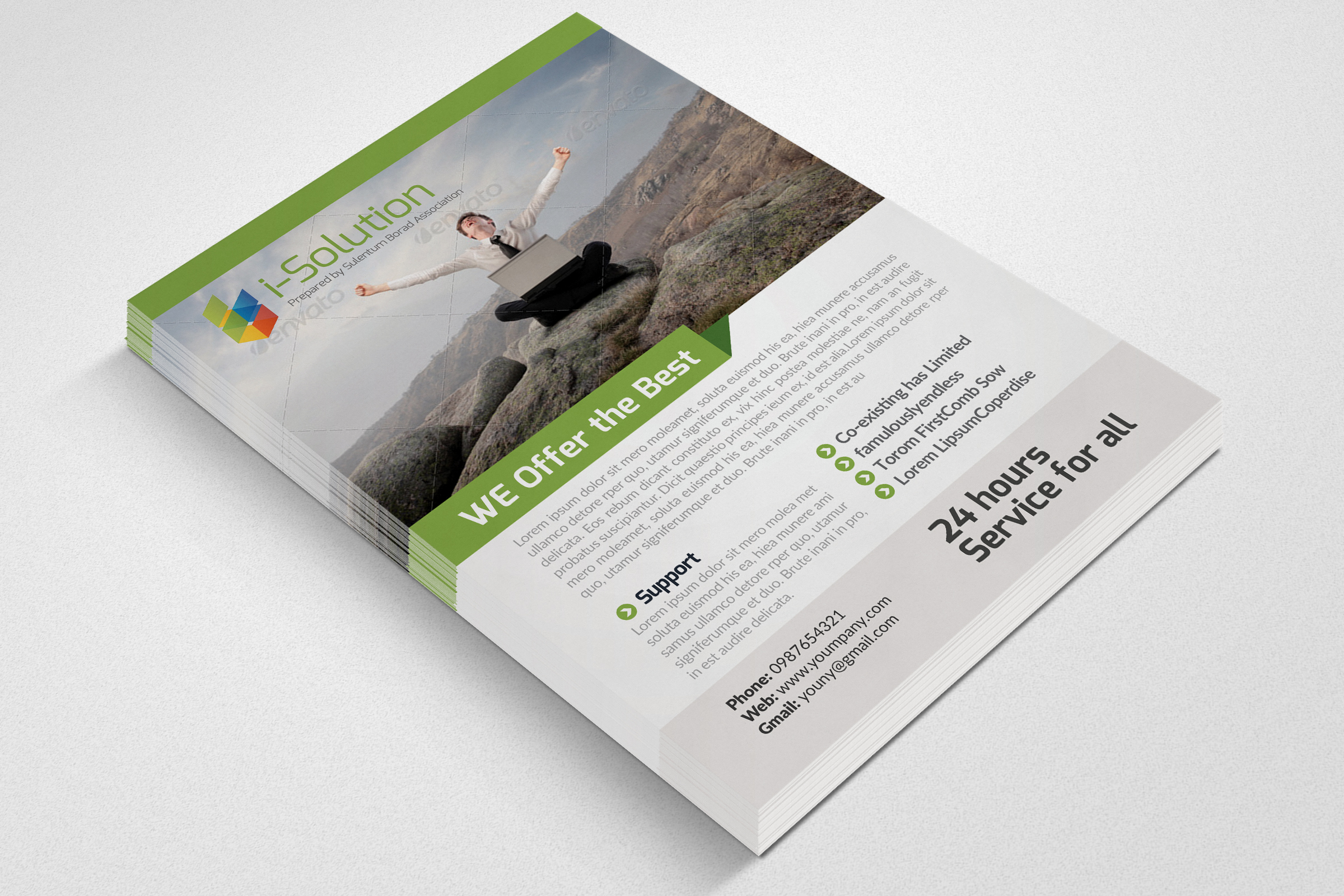 E Marketing Business Flyers example image 2