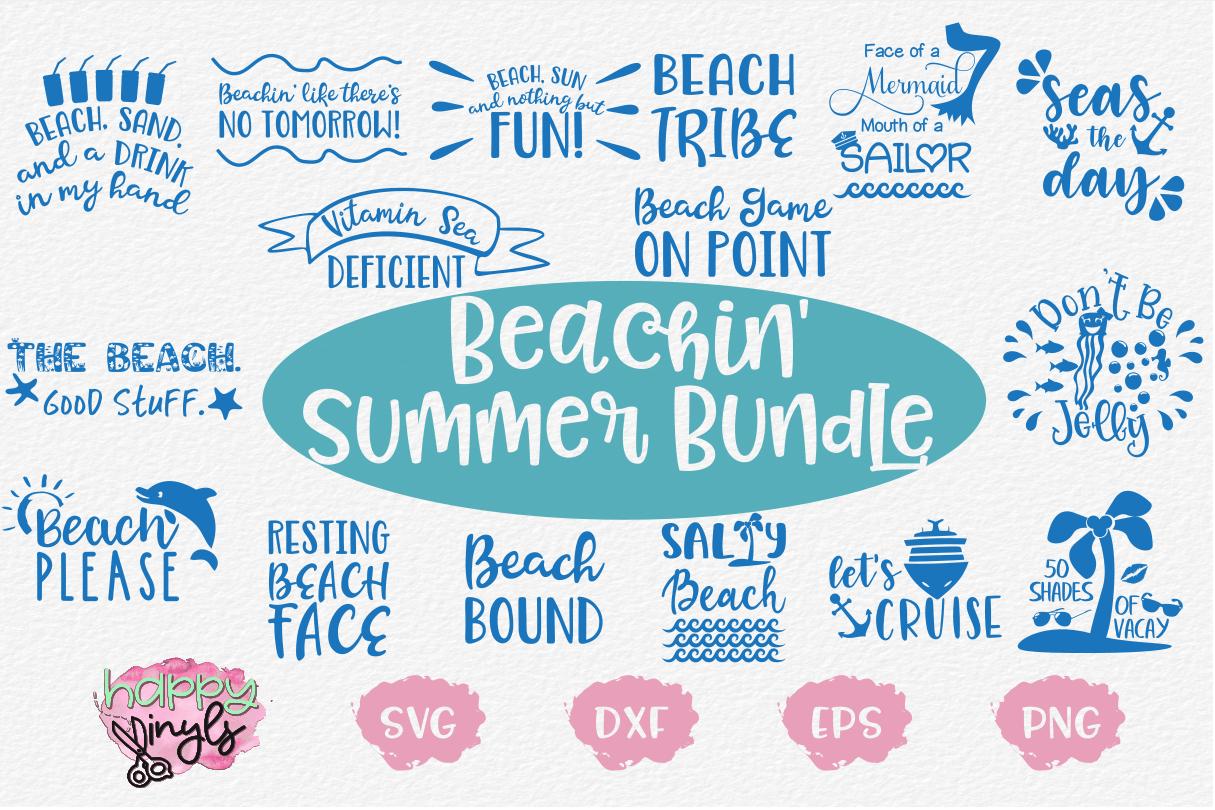 Beachin' Summer Bundle - A Summer SVG Bundle example image 1