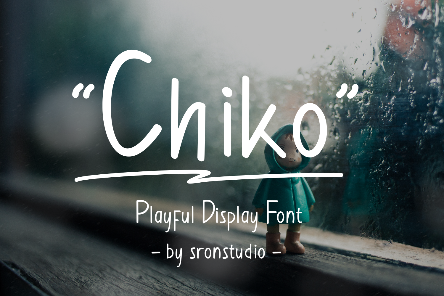 Chiko -  A playful  display font example image 1