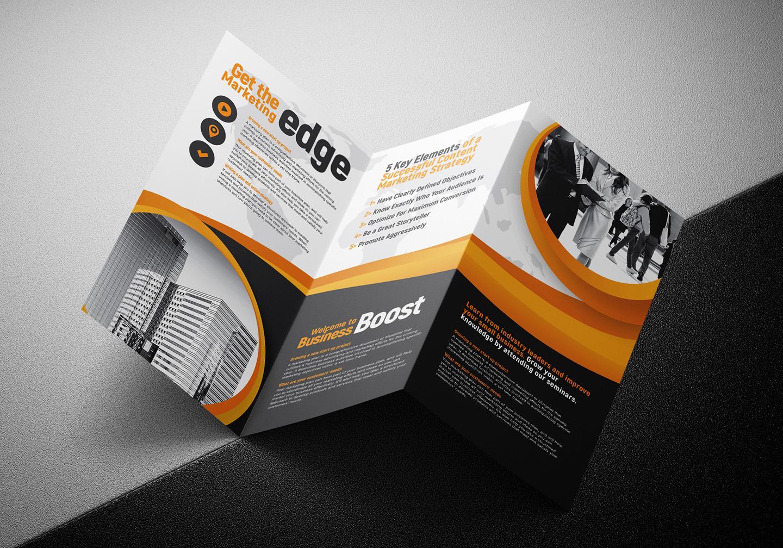 Marketing Seminar Tri-Fold Brochure Template example image 5