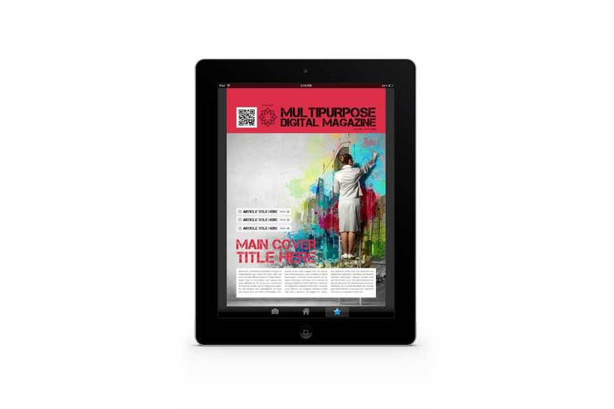 Multipurpose Digital Magazine Template example image 6