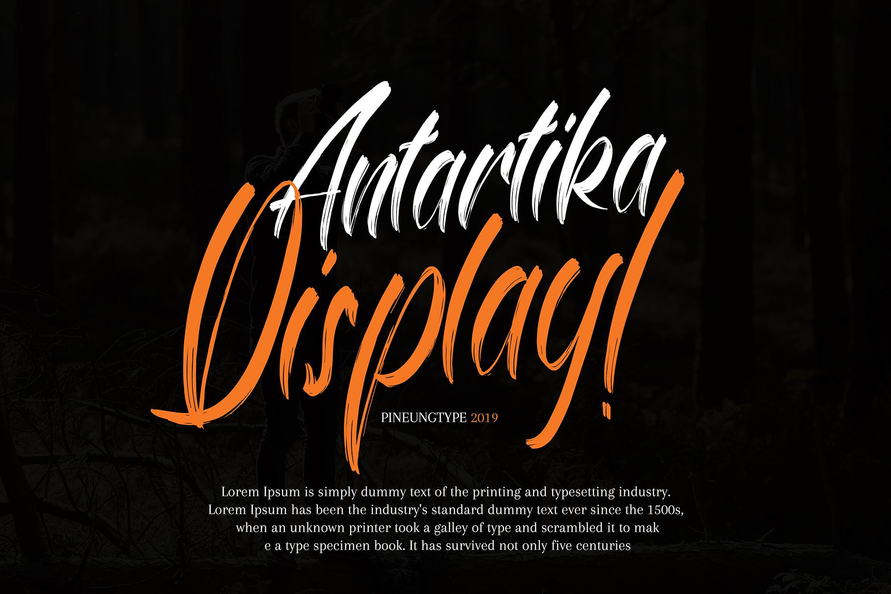 Antartika font Duo example image 4