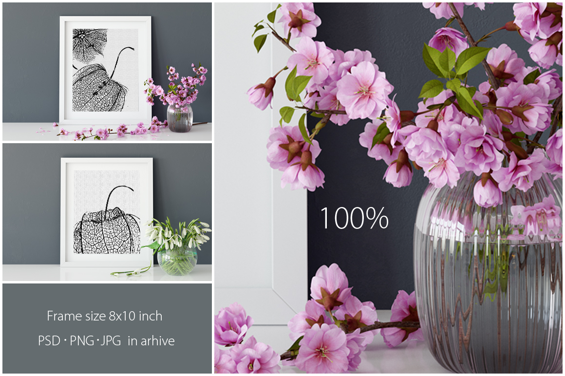 Frames Mockup 8x10 - PACK example image 4