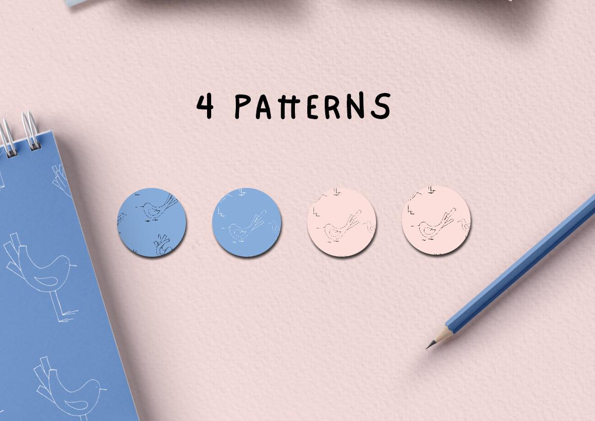 Birdies | A Tiny Design Kit example image 4