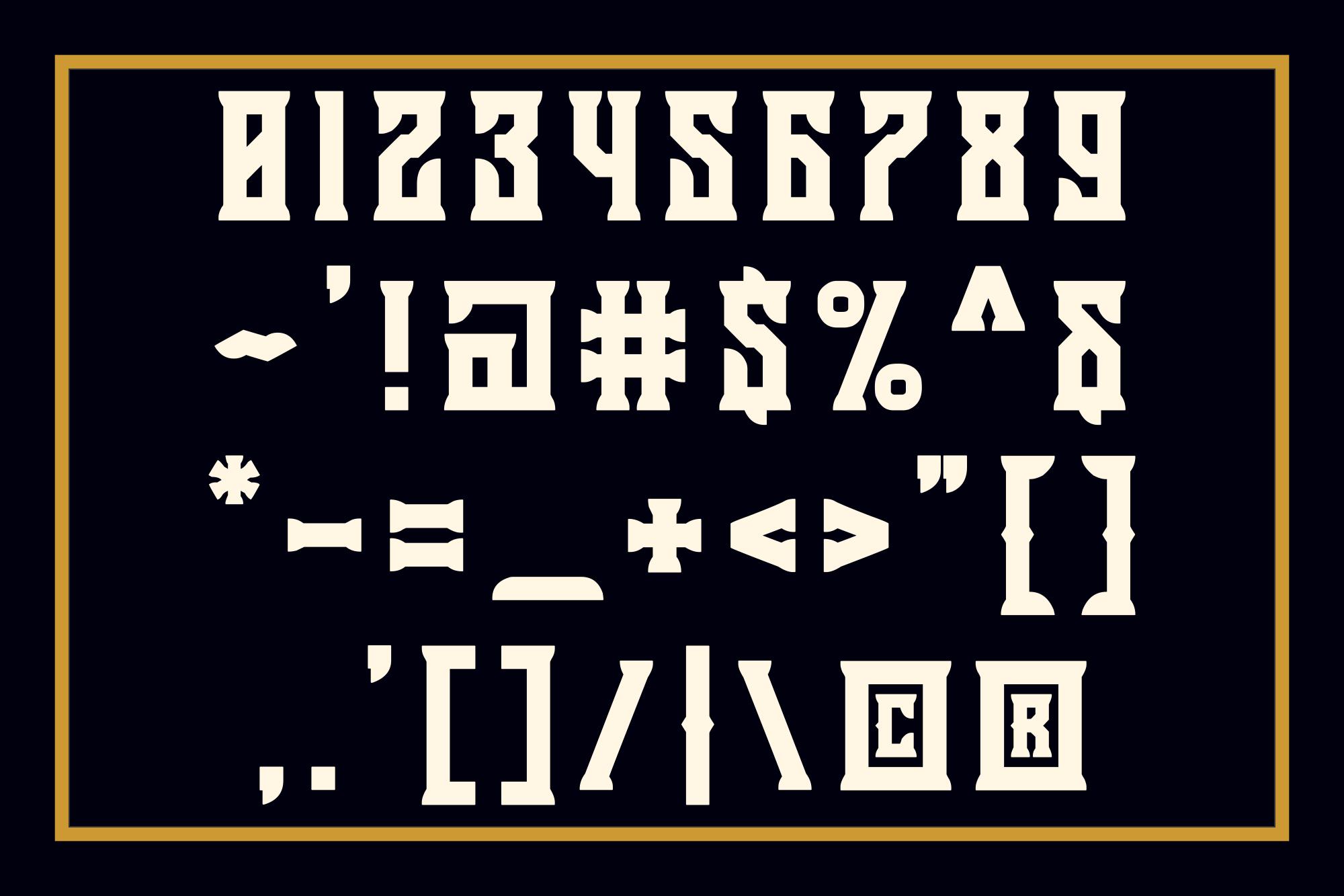 Holics Typeface example image 4