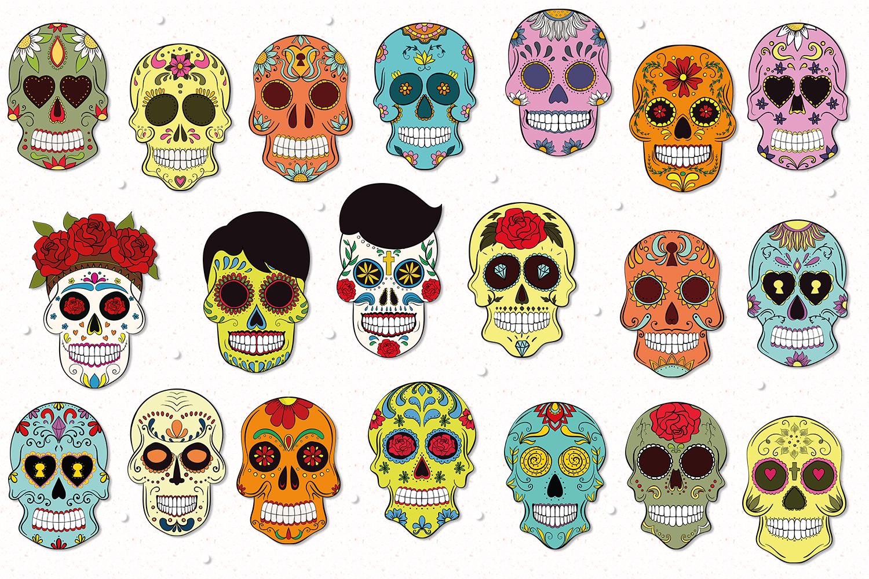 Sugar Skulls example image 2