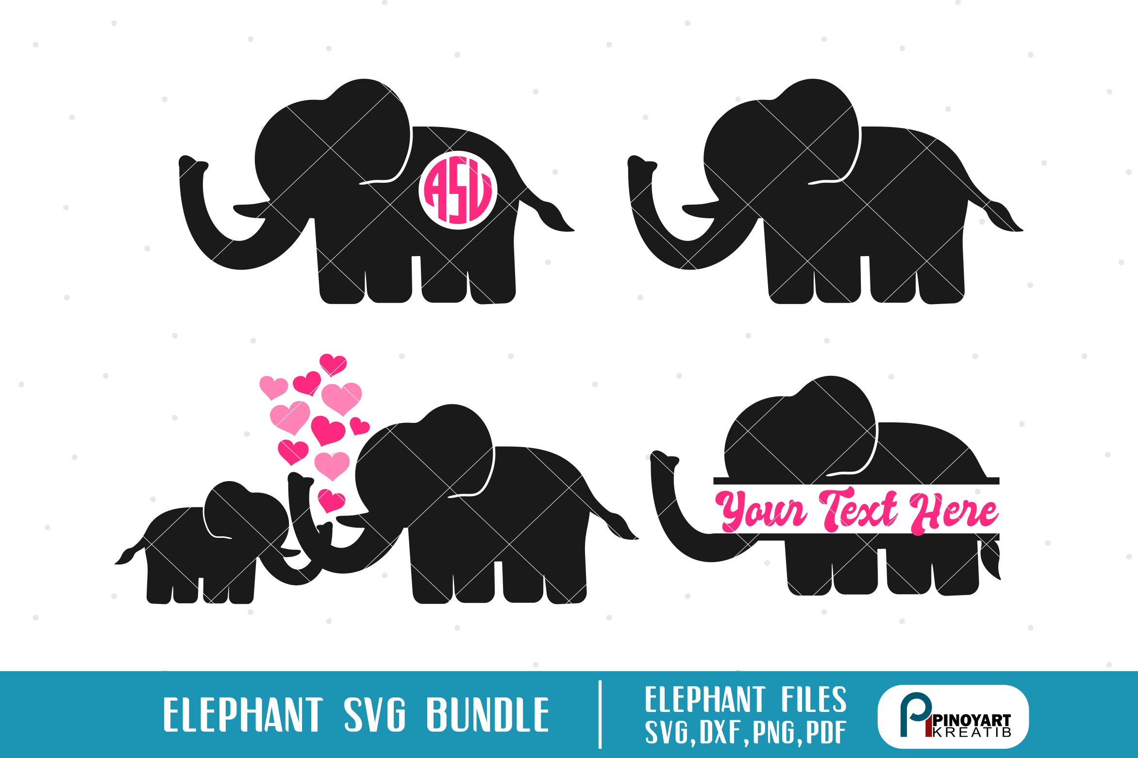 Download elephant svg, elephant svg file, baby elephant svg ...