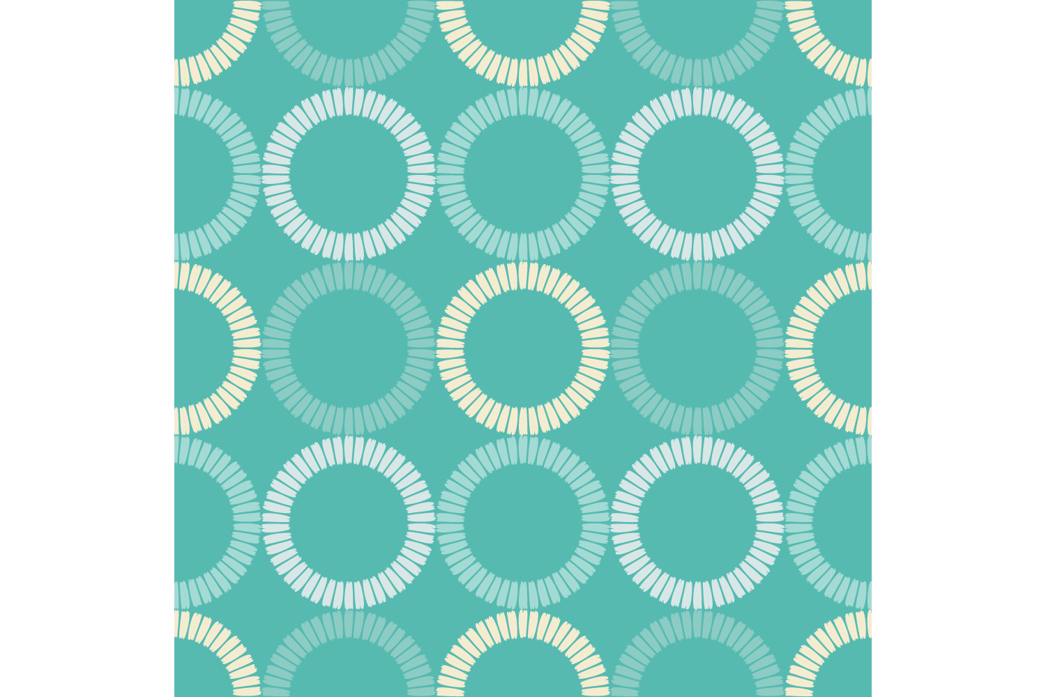Polka dots ornament. Set of 10 seamless patterns. example image 2