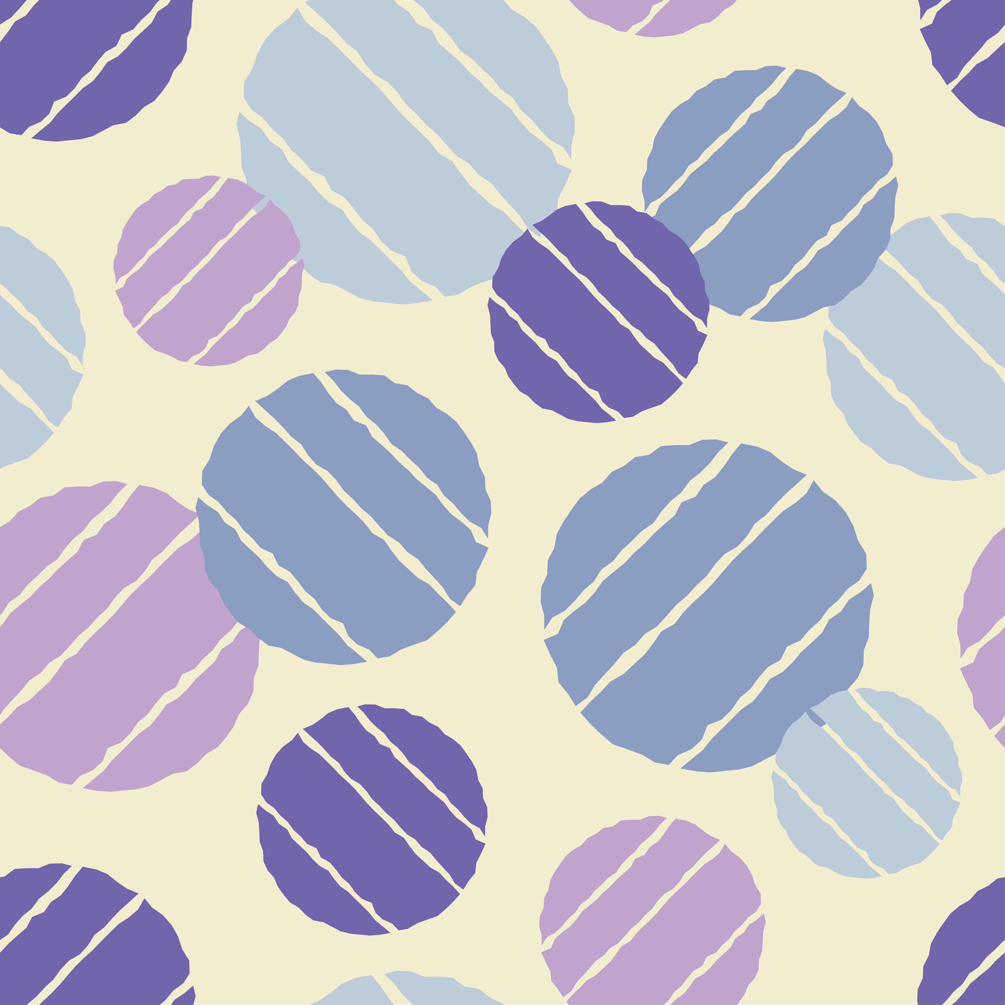 Polka dot seamless pattern. Sketch texture.  example image 5