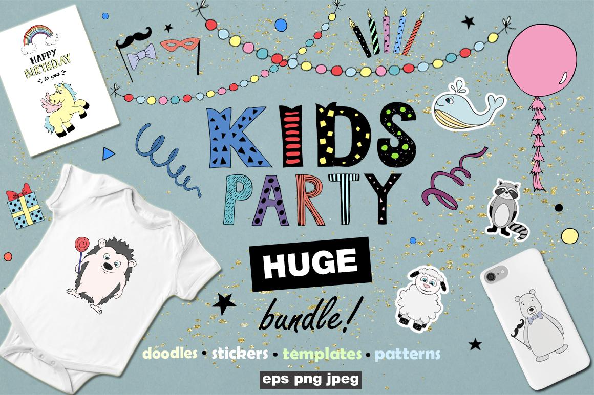 KIDS Party! Huge bundle example image 1