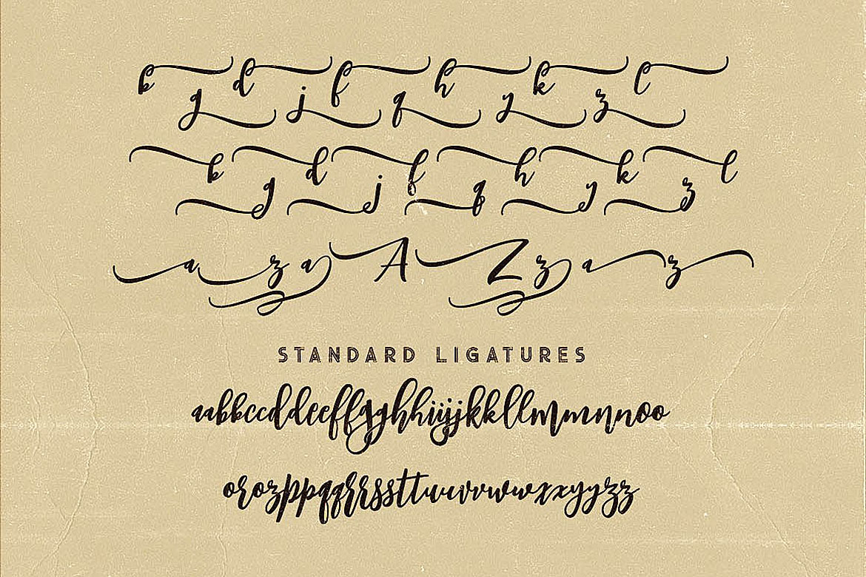 Singapore Script Font example image 7