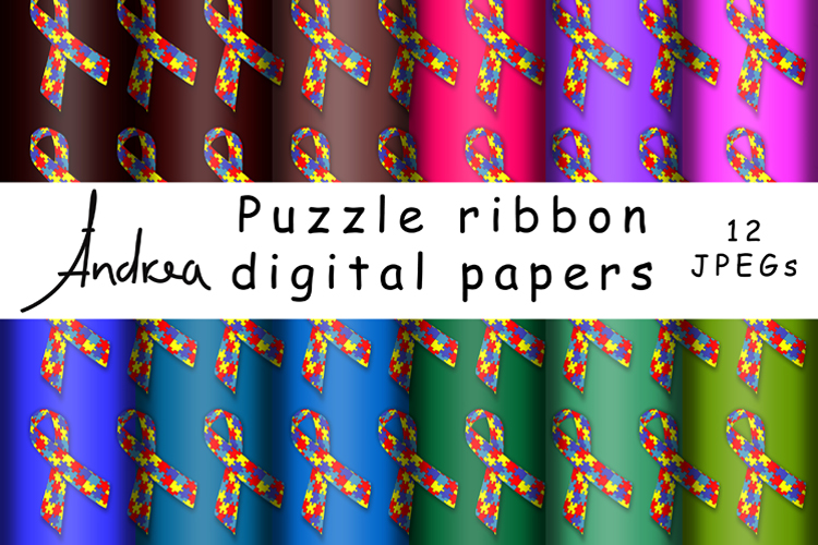 Puzzle ribbon example image 1