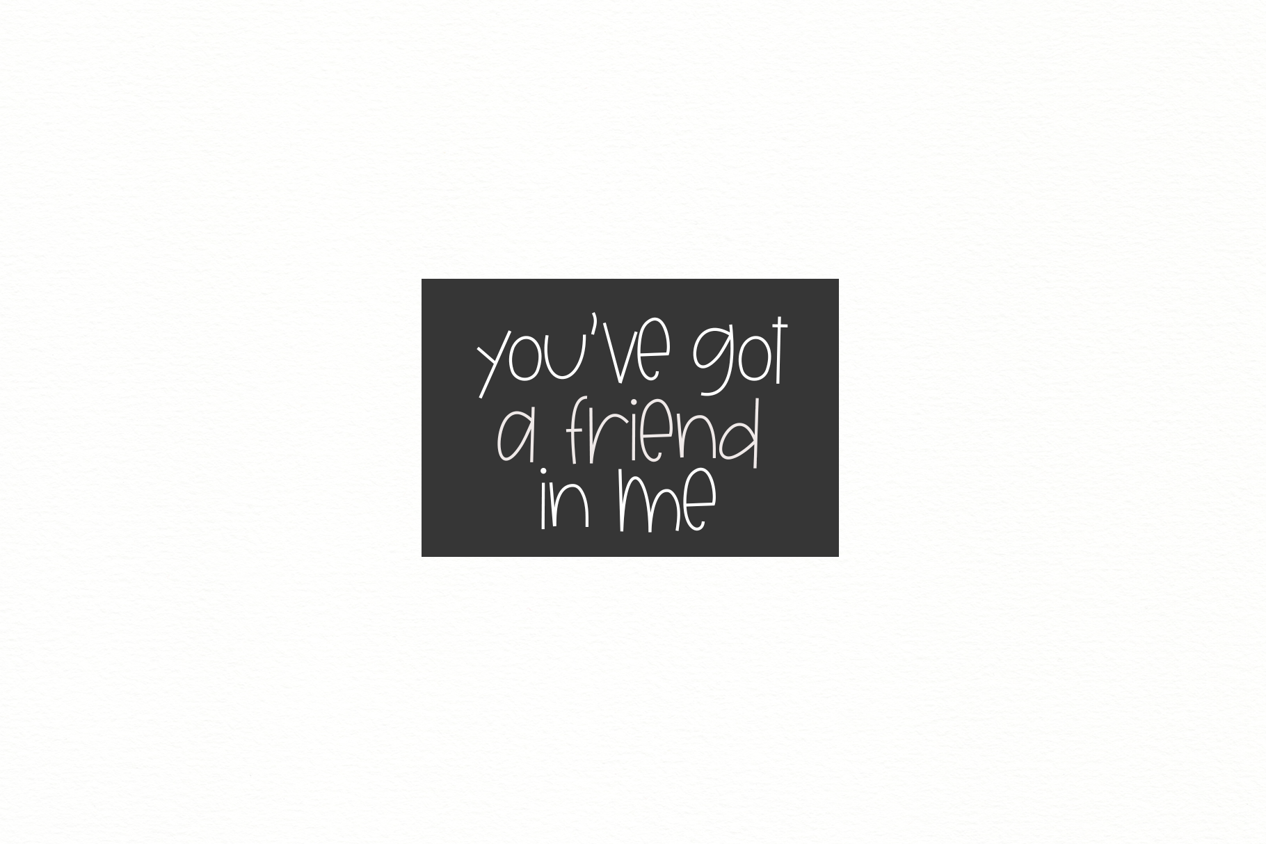 Unlikely Friends - A Quirky Handwritten Font example image 3