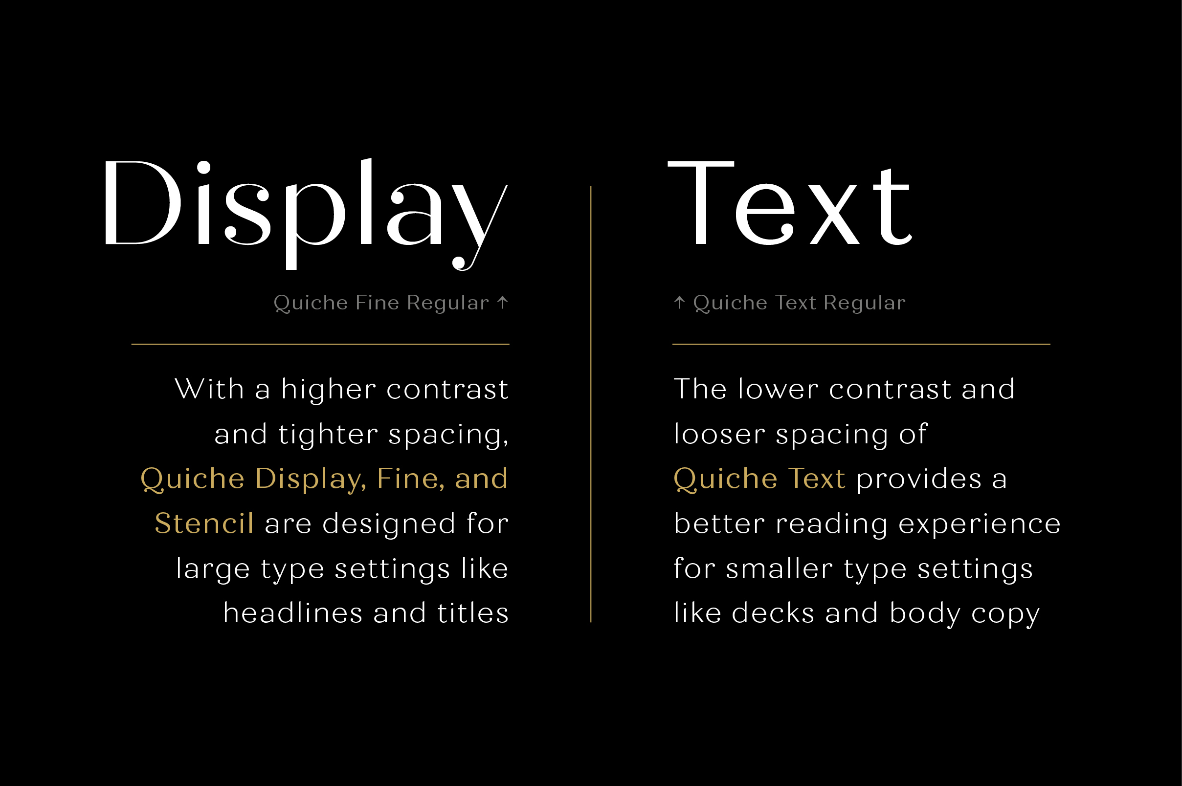 Quiche Font Family example image 21