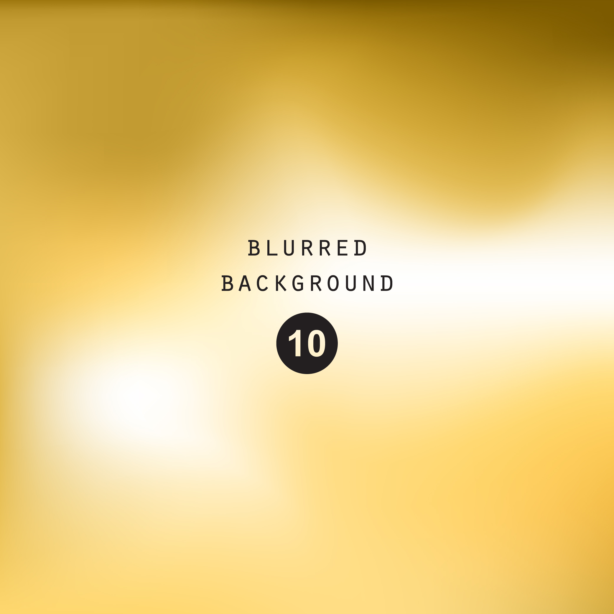 Blurred gold effect holographic gradient abstract background example image 4