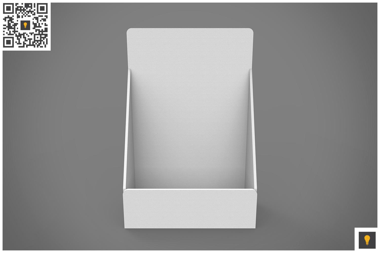 Table Top Display 3D Render example image 2