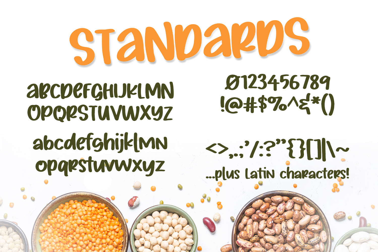 Silly Beans Font example image 2
